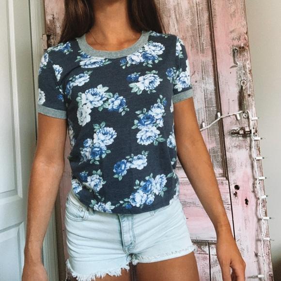 PacSun Tops - Floral Shirt